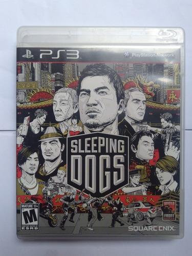 jogo sleeping dogs ps3 completo midia fisica r$49,9