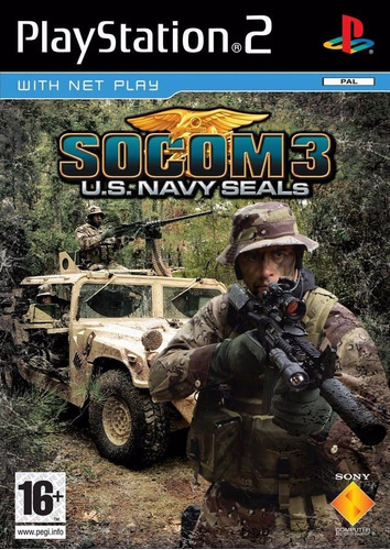 jogo socom 3 u.s. navy seals novo original lacrado ps2