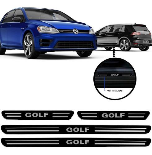 jogo soleira resinada volkswagen golf 2010/...