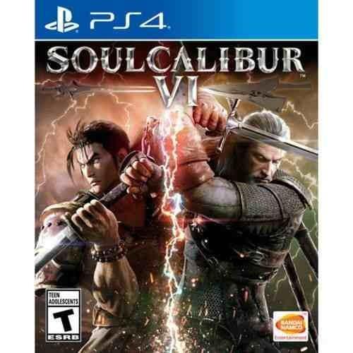 jogo soulcalibur vi - soul calibur -  ps4