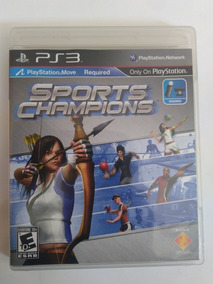 Jogo Sports Champions Movie Midia Fisica Ps3 R$19,9