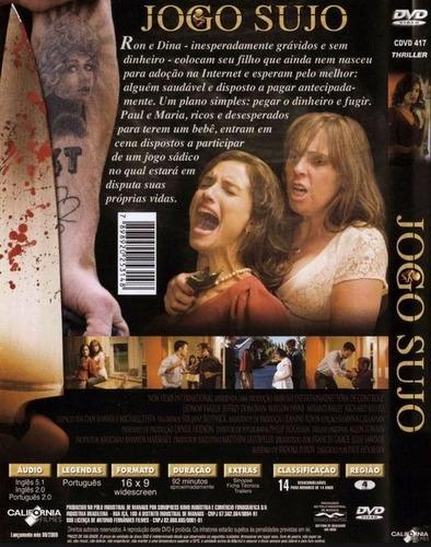 jogo sujo - o mal respira suspense dvd novo lacrado dublado