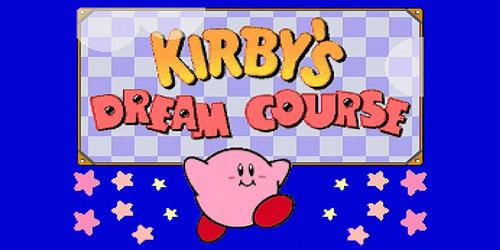 jogo super nintendo kirby dream course - frete grátis