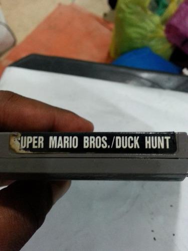 jogo super nintendo super mario bros/duck hunt