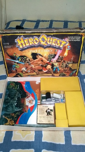 jogo tabuleiro hero quest - estrela - raridade