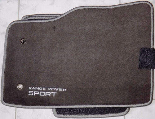 jogo tapete carpete base borracha range rover sport
