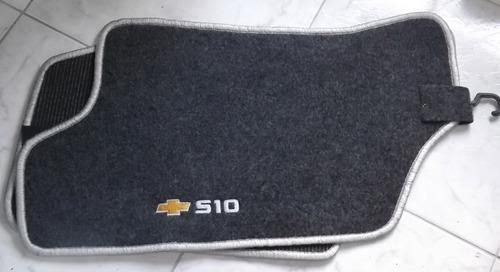 jogo tapete carpete resinado da s-10 cabine simples antiga