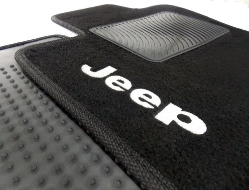 jogo tapete jeep renegade 2015 carpete preto 15