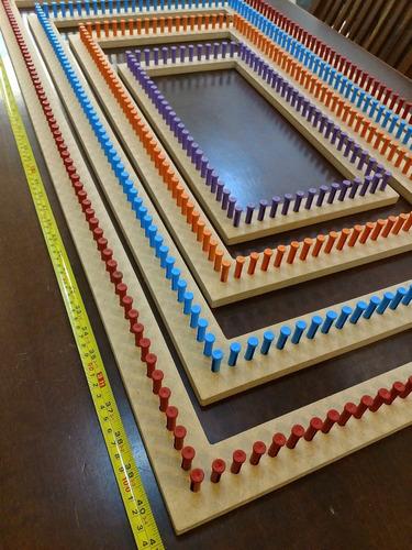 jogo tear retangular gigante 04 pç 100x50,80x40,60x30,40x20