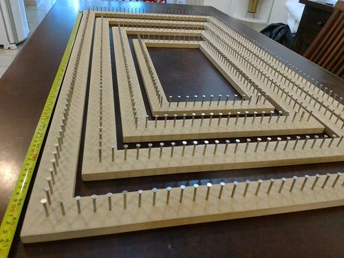 jogo tear retangular gigante 04 pçs 100x50,80x40,60x30,40x20