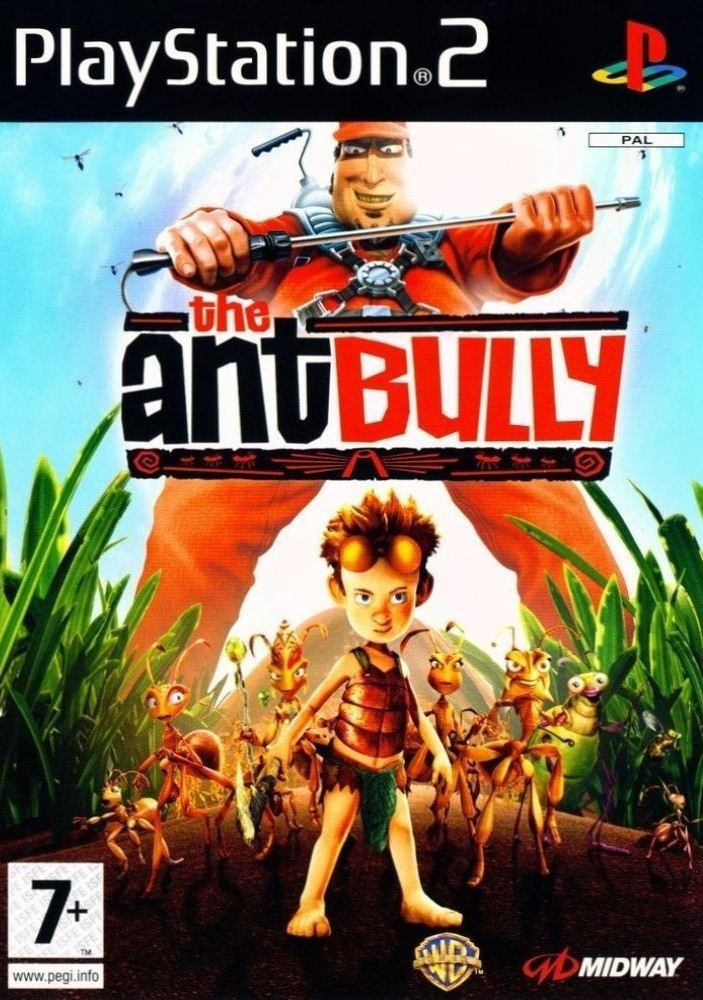 The Ant Bully PS2 ISO