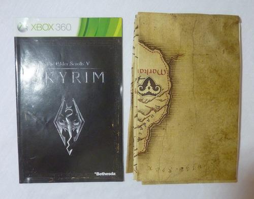 jogo the elder scrolls v: skyrim xbox 360 bethesda