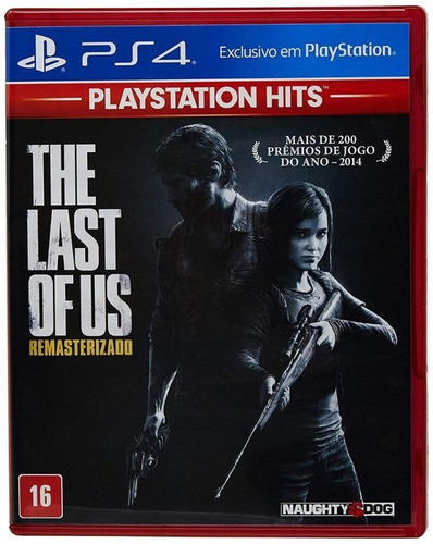 jogo the last of us remasterizado ps4 midia física