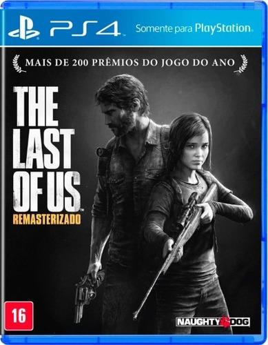 jogo the last of us remasterizado ps4 playstation 4