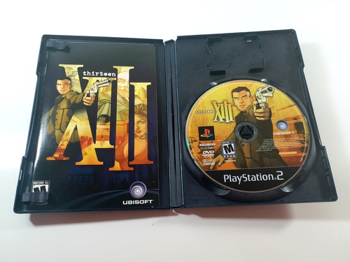 jogo thirteen (xiii) ps2 original