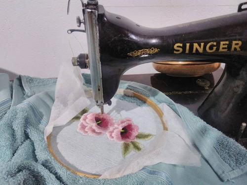 jogo toalha bordado 1 banho 1 rosto  maquina pedal artesanal