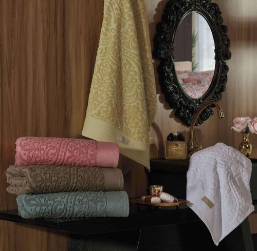 jogo toalhas banho