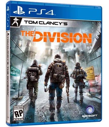 jogo tom clancy's the division - ps4 - original lacrado