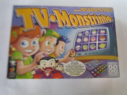 jogo tv monstrinho da grow