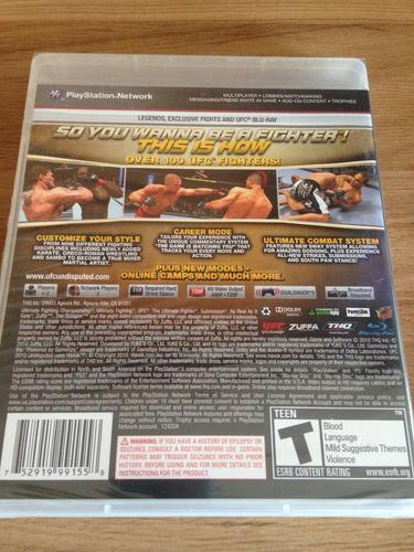 jogo ufc undisputed 2010 para ps3 novo e lacrado