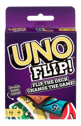 jogo uno flip cartas - pronta entrega no brasil