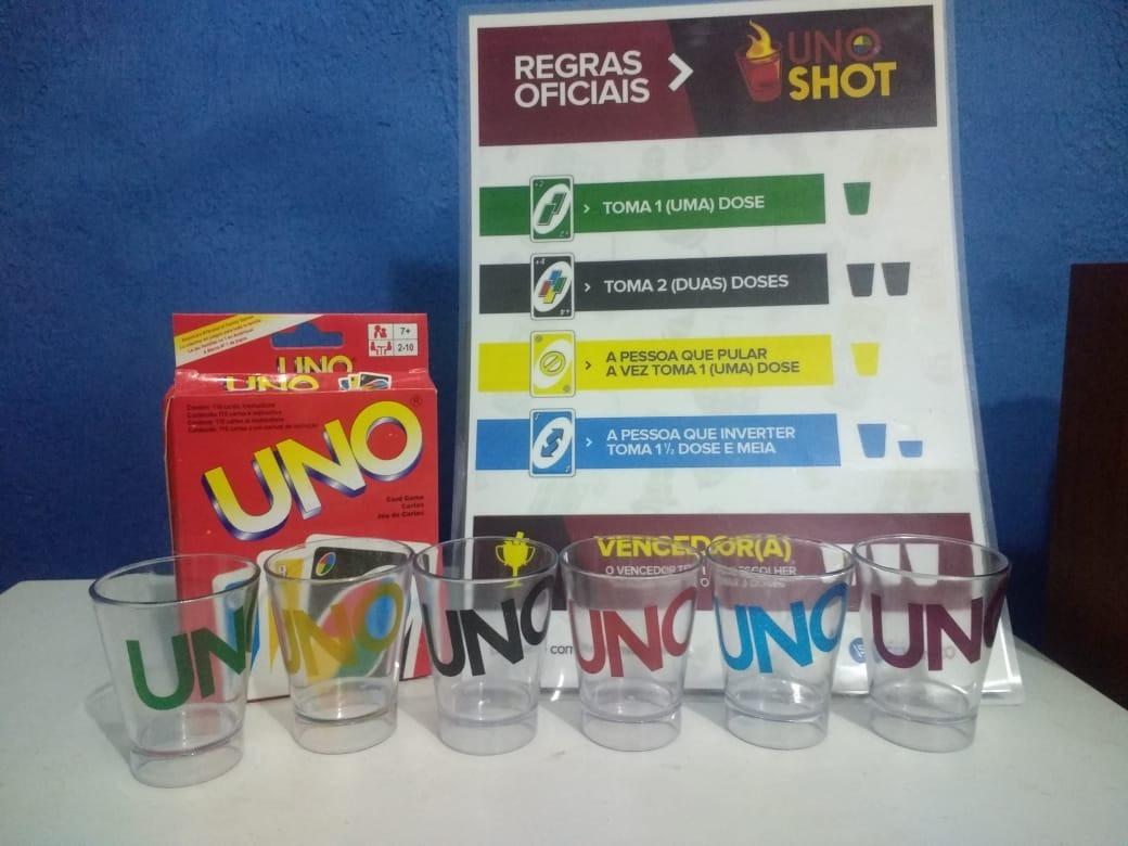 Jogo Uno Shot Jogo Exclusivo Jogo De Bebida R 120 00 Em