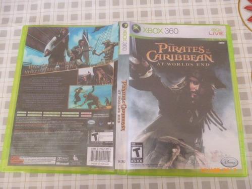 jogo usado xbox 360 - piratas do caribe - ntsc - testado