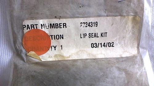 jogo vedador compressor gm 02724319 vectra,s10,corsa cx2
