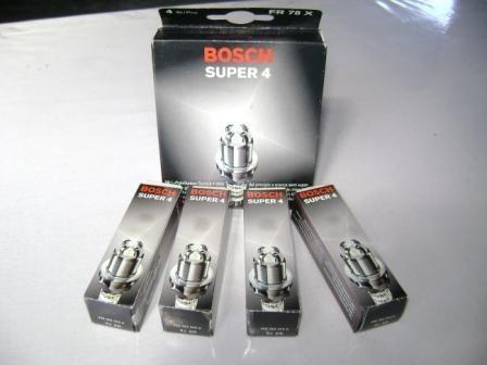 jogo velas de ignição super 4 eletrodo toyota