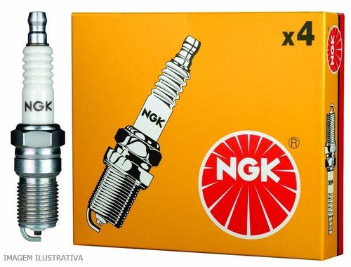 jogo velas ngk fiat tipo 1.6 8v ie uno 1.4 turbo