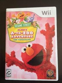 Jogo Vila Sezamo Para Wii