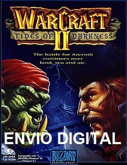 jogo warcraft ii tides of darkness pc