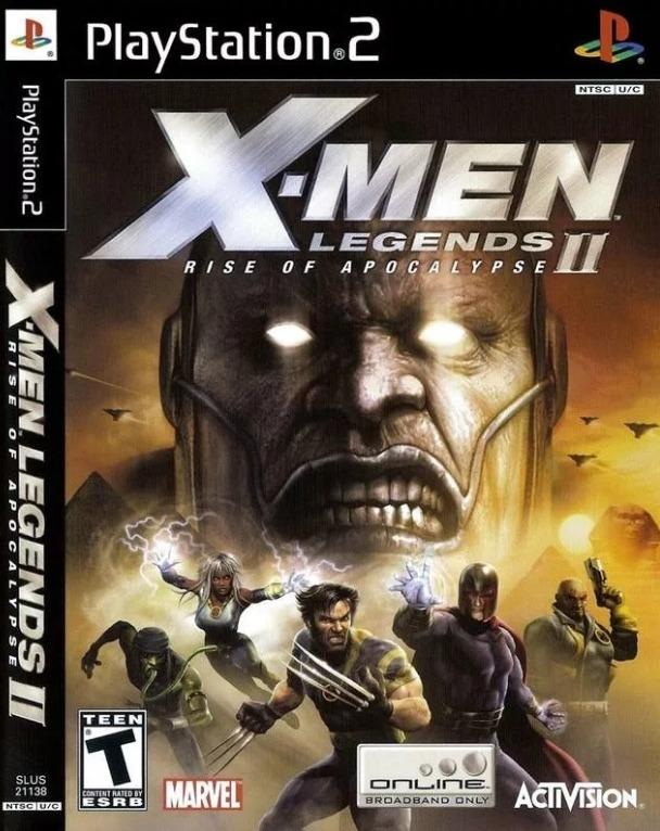 Jogo X-men Legends 2 Rise Of Apocalypse Ps2 - R$ 14,00 em Mercado Livre