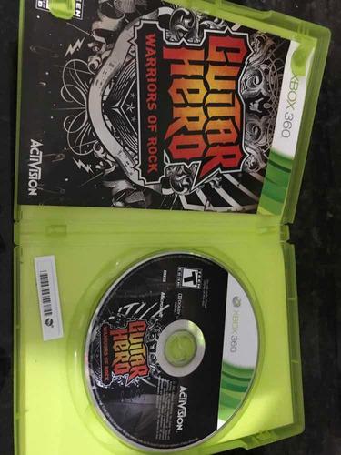 jogo xbox 360 guitar hero warriors rock