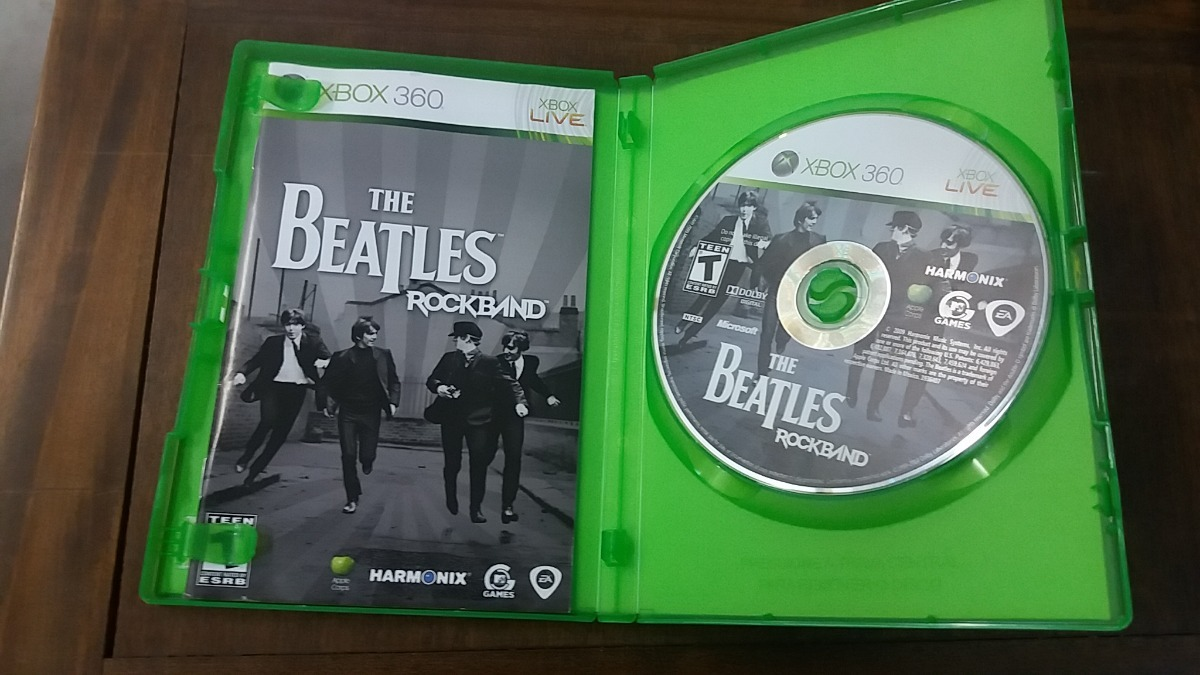 Jogo Xbox 360 The Beatles Rock Band Complete Ntsc