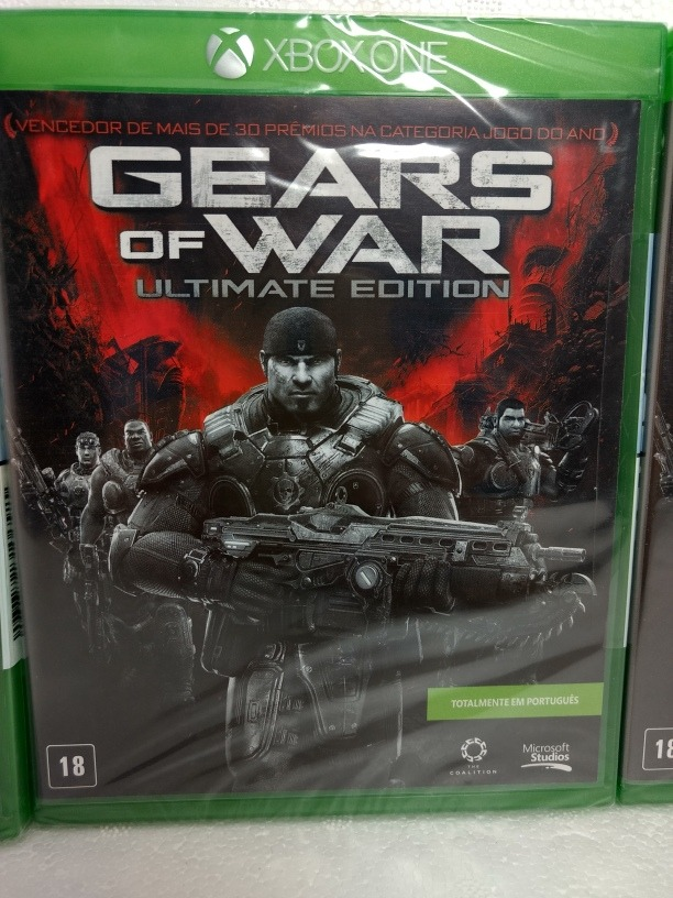 Jogo Xbox One Gears Of War Ultimate Edition Lacrado Original