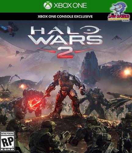 jogo xbox one - halo wars 2 - novo ( mídia física )