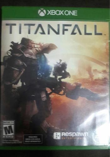 jogo xbox one midia fisica titanfall+ fifa 18 (pouco uso)