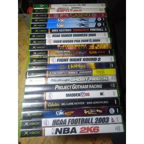 Jogos - Xbox Classico Originais ,envio Via Cr