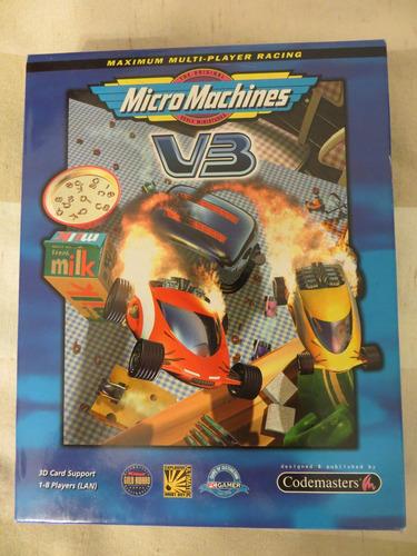 jogos clássicos para pc na caixa: micro machines v3