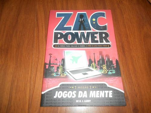 jogos da mente zac power - h. i. larry