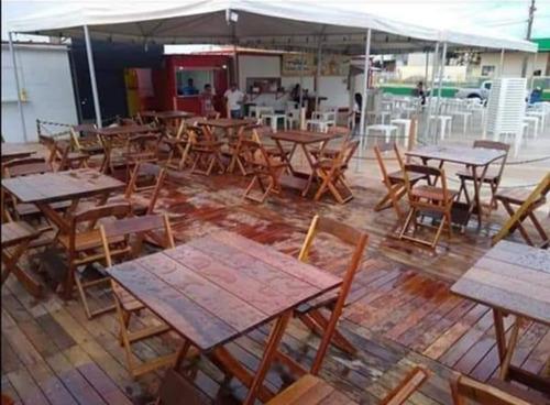 jogos de mesa dobraveis 4 cadeiras 1 mesa 70x80