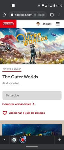 jogos digitais nintendo switch