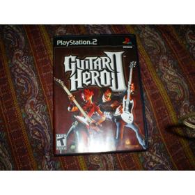 Jogos Originais Ps2 - Guitar Hero 2 - Sem Book