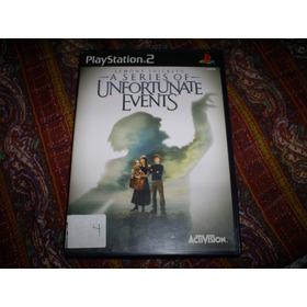 Jogos Originais Ps2 - Lemony Snicket's Series Of Unfortunate