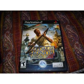 Jogos Originais Ps2 - Medal Of Honor Rising Sun