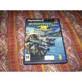 Jogos Originais Ps2 - Socom 2 Us Navy Seals