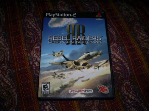 jogos originais ps2 - rebel raiders operation nighthawk