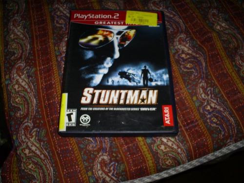 jogos originais ps2 - stuntman