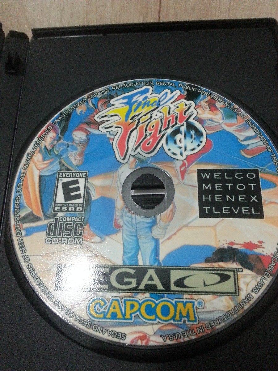 Jogos Patch Sega Cd - Mídia Envernizada Melhor Do Ml